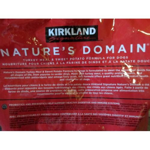 Kirkland Brand Dog Food Turkey And Sweet Potato