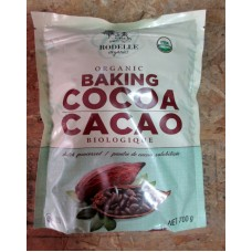 Baking - Cocoa  - Organic -  Baking Cacoa - Dutch Processed - Gluten Free -  Rodelle Brand -  - 1 x 700 Grams
