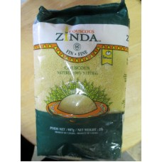 Flour - Couscous - 100% Natural - Ready In 5 Minutes - Zinda Brand / 1 x 907 Grams / 2 lbs