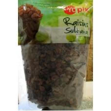 Raisins - Sultana Raisins - Gluten Free - NON GMO -  Yupik Brand / 1 x 2 Kg Resealable Bag / 4.4 Lbs