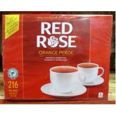 Tea - Red Rose - Orange Pekoe - 100%  Natural / 1 x 216 Tea Bags