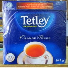 Tea - Tetley Brand - Orange Pekoe / 1 x 300 Tea Bags