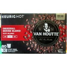 Coffee - Keurig Cups - Van Houtte - Velvet & Woodsy Original Blend - Medium Roast  - For Use In All Keurig / 1 x 80 K-Cups