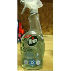 Cleaner - Bathroom Cleaner - Nature Anti-Limescale Cleaner With Vinegar - Vim Brand  / 1 x 700 mL Spray Bottle
