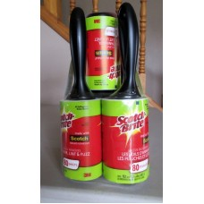 Cleaner -Lint Rollers - 3 M Brand  5 Rolls x 80 Sheets