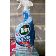Cleaner - Bathroom Cleaner - Power & Shine -  Vim Brand  / 1 x 700 mL Spray Bottle