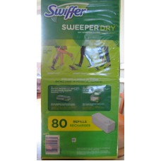 Cleaner - Swiffer - Dry Sweeping Cloth Refills - 2 Packs Of 20 / 1 x  80 Dry Sweeping Cloths
