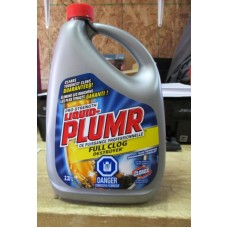 Cleaner - Clog Remover - Full Clog Remover - Pro-Strenght - Liquid Plumr Brand  / 1 x 2.37 liter