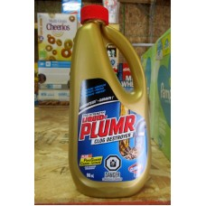 Cleaner - Clog Destroyer - Pro Strenght Liquid - Liquid Plumr Brand  / 1 x 900 ml