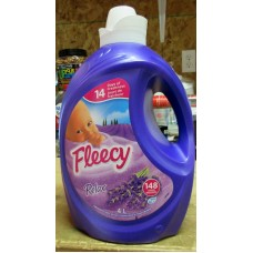 Detergent - Fabric Softner - Liquid Laundry - Fabric Softner - Relax Scent -  Fleecy Brand - HE Product - Concentrated Fabric Softner - / 1 x 4 Liter / 148 Loads