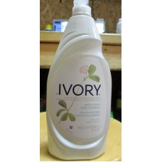 Soap - Dishwashing Liquid - Ivory Concentrated - Gentle On Hands - Classic Scent - 2 x 573 ml Bottles