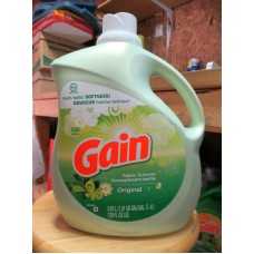 Detergent - Fabric Softner - Gain Original - Ultra - HE Product - 150 Loads / 1 x 3.83 Liter