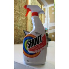 Detergent - Laundry Stain Remover - Shout Brand  -  Original / 1 x 650 ml Trigger Spray