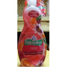 Soap - Dishwashing Liquid -  Palmolive Brand - Ultra - Passion Fruit & Mandarin Scent / 2 x 591 ml