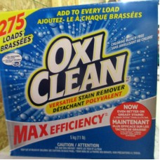 "Detergent - Laundry Powder - Oxi Clean  - HE Product - For All Machines - Concentrated -Versatile Stain Remover / 1 x 5 Kg Box ""Now In A New Bigger Size"""" ."