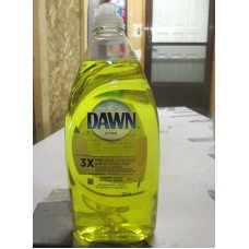 Soap - Dishwashing Liquid -   Dawn Ultra Brand - Cleans Up To 3x More Greasy Dishes - Lemon Scent / 2 x 532 ml