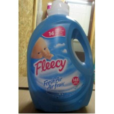 Detergent - Fabric Softner - Liquid Laundry - Fabric Softner - Fleecy Brand - HE Product - Concentrated Fabric Softner - / 1 x 4 Liter / 148 Loads