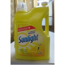 Soap - Dishwashing Liquid -  Sunlight Brand - / 1 x 4.2 Liter /  MEGA SIZE