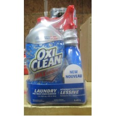 Detergent - Laundry Stain Remover   - Oxi Clean  - Pre Treat Stain Remover - / 1 x 1.81 Liter Bottle  & 650 ml Sprayer Bottle