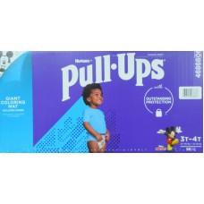 Diapers -  Huggies - Pull Ups - Boys - 3T-4T/ (15 - 18 kg/ 32 - 40 lbs) 1 x 96 Diapers