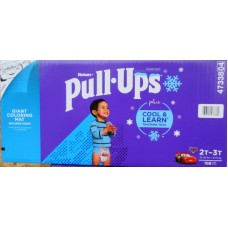 Diapers -  Huggies - Pull Ups Training Pants  - Boys - Size  2T-3T/ 8- 15 Kg / 18 - 34 Lbs / 1 x 108 Diapers