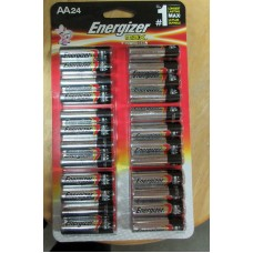 Batteries - Energizer Max - Energizer Brand - AA Batteries  / 1 x 24 Batteries