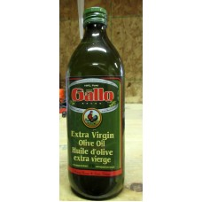 Oil -Olive Oil  Extra Virgin - Product Of Italy - Gallo Brand / 1 x 1 Liter