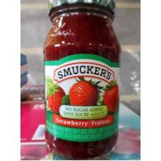 Jam - Strawberry Jam - No Sugar Added - Smuckers Brand / 1 x 310 ml