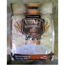 Rice - Basmati -  Wah Brand - Premium Quality -   1 x 3.63 Kg / 8 lbs
