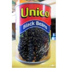 Bean - Black Beans - High In Fiber -  Unico Brand -  2 x 540 ml Can