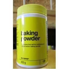 Baking - Baking Powder - Double Action Baking Powder -  No Name Brand / 1 x 450 Grams