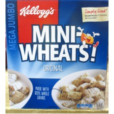 Cereal - Kellogg's Brand - Mini Wheats - Original /  1 x 1.6 Kg