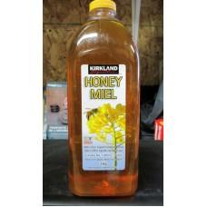 Honey - Liquid Honey - Unpasteurized - 100% Pure Liquid Canadian Honey - Kirkland Brand  / 1 x 3 Kg