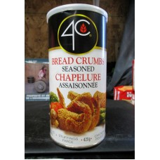 Bread - Bread Crumbs - Seasoned - Chapelure Original Brand  / 1 x 425 Gram Container