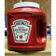 Ketchup - Heinz Brand  1 x 2.84 Liter Plastic Container -