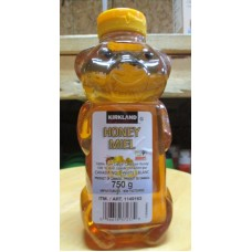 Honey - Kirkland Brand - 100% Pure Liquid Canadian Honey - Unpasteurized - Canada # 1 White / 1 x 750 Gram / 1.65 lbs
