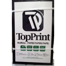 "Office Supplies - Paper  - Multiuse - Photo Copy Paper - Letter Size / 8.5"" x 11"" / Top Print Brand 1 X 5000 Sheets"