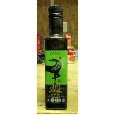 Oil - Olive Oil - Basil - Organic - Extra Virgin - Tunsisian - Terra Delyssa Brand  1 x 250 ml Bottle