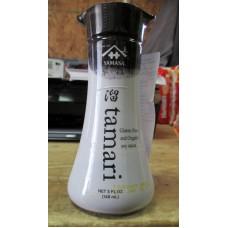 Sauce - Soy Sauce - Organic - Gluten Free - Tamari Brand - 1 x 5 Fluid Ounces
