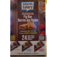 "Granola Bars - Fig Bars - Nature's Bakery Brand - Variety Pack / 24 x 2 Oz Bars""""See Pictures For More Details"""""