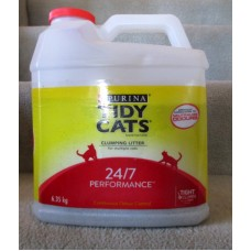 Pet Supplies - Cat Litter - Purina Tidy Cats Brand - Clumping Litter - Instant Action - For Multiple Cats - Attacks & Neutralizes The 3 Key Odours / 1 x 6.35 Kg Jug