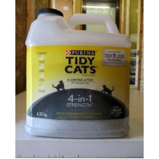 Pet Supplies - Cat Litter - Purina Tidy Cats Brand - Clumping Litter - For Multiple Cats / 1 x 6.35 Kg Jug