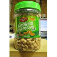 Nuts - Cashews - Salted Cashews With Sea Salt - GMO Free - Dan.D.Pak Brand / 1 x 908 Grams / 2 lbs