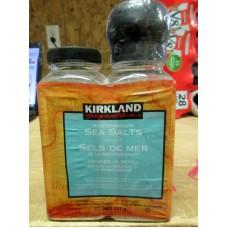 Spice - Sea Salt -  Mediterranean Sea Salts With Grinder - Kirkland Brand / 1 x 737 Gram