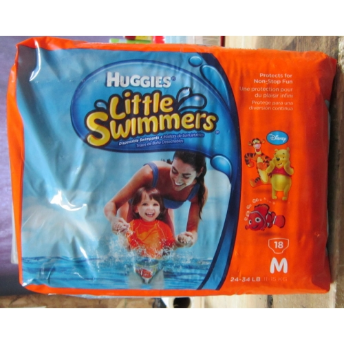 Diapers Huggies Little Swimmers Medium Size 11 15
