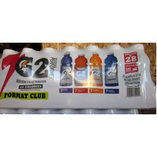 """Gatorade - Club Pack - G2 Series - 20 Calories / 28 x 591 ml / 4 Flavours / """"""""See Details """""""""""