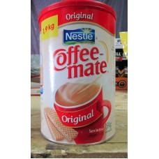 Coffee  Whitener - Nestle Brand - Coffee Mate Whitener  - Original / 1 x 1.9 Kg / MEGA SIZE