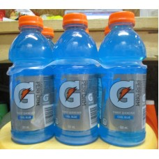Gatorade - G Series - Cool Blue Flavour - 6 x 591 ml Bottles