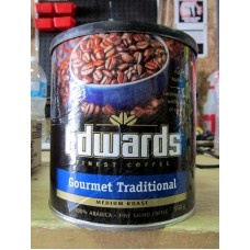 Coffee - Edwards Brand - Medium Roast - 100% Arabica - Fine Ground - Gourmet Traditional / 1 x 930 Gram