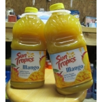 Juice - Mango Juice - Sun Tropics Brand - 100% Puree & Juice Blend - From Concentrate And Other Ingredients - 2 x 1.89 Liter Jugs